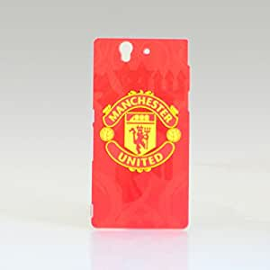 Mobstars - Football Club Manchester United Back Case for Sony Xperia Z