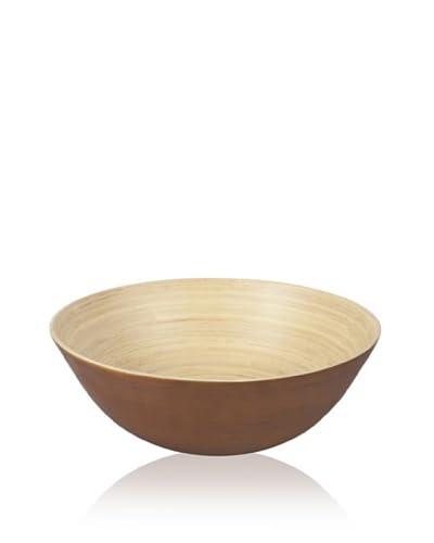 Core Bamboo Modern Round Bowl, Chocolate, Extra Large