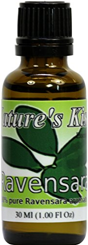 Nature's Kiss Ravensara Therapeutic Grade 100-Percent Pure Essential Oil, 30ml/1-Ounce
