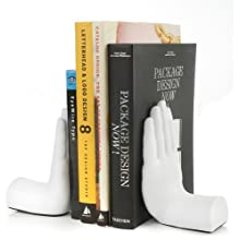 Tech Tools Desktop Madness Series Stop Hand Bookends (HS-8003)