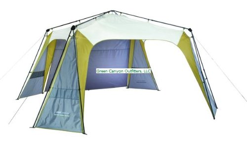 Coleman Event 14 Shade Canopy : Coleman signature sunwall instant event shade x