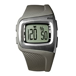 Mio M9W32P3C8L3 Sport Heart Rate Monitor, Grey