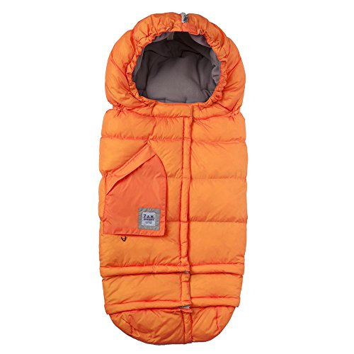 7AM Enfant Blanket 212 Evolution Extendable Baby Bunting Bag Adaptable for Strollers, Neon Orange