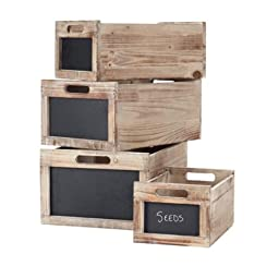 Produce Crates Set Of 4, SET OF FOUR, NATURAL