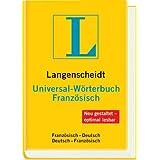 """Langenscheidt Universal-W�rterbuch Franz�sisch: Franz�sisch-Deutsch/Deutsch-Franz�sischvon """"Langenscheidt-Redaktion"""""""
