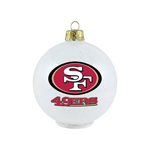 NFL San Francisco 49ers LED Small Ornament