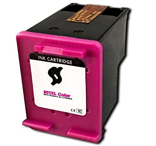 Druckerpatrone für HP 901 XL color / bunt / farbig - Patrone / Tinte für Officejet 4500 J4500 J4600 J4624 J4660 J4524 J4540 J4550 J4580 J4680 J4680C