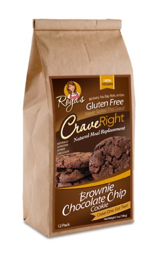 Gluten-Free, 100% Vegan - 7 Oz, Containing 12 Individually Wrapped Cookies (Brownie Chocolate Chip) (Pack Of 3)