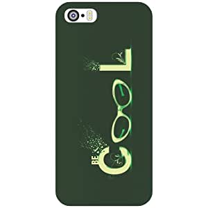I Phone 5S cool Phone Cover - Matte Finish Phone Cover