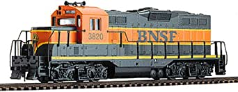 Walthers Trainline EMD HO Scale GP9M Ready-to-Run Burlington Northern Sante Fe #3820