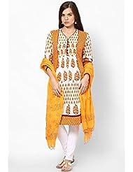 Hand Block Print Cotton Dupatta - B00QKDR8LU