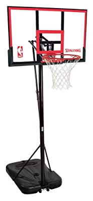 72354 Spalding Huffy Portable Basketball System - 48in Polycarbonate Backboard