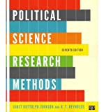 [ POLITICAL SCIENCE RESEARCH METHODS ] By Johnson, Janet Buttolph ( Author) 2011 [ Paperback ]