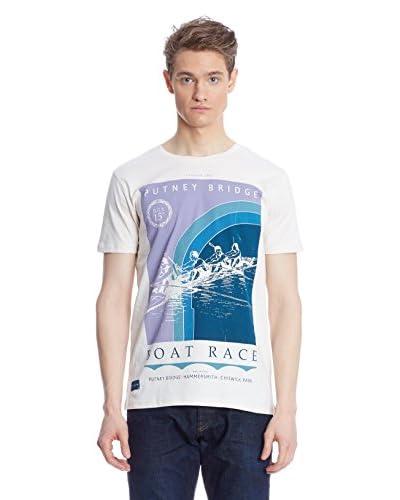 Putney Bridge Camiseta Manga Corta Boat Race Azul Marino