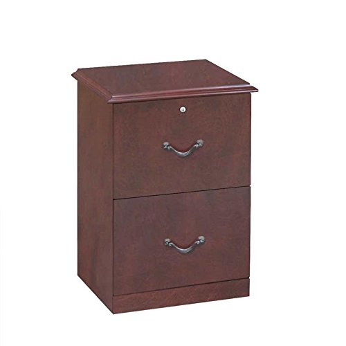 Z-Line Designs 2-Drawer Vertical File Cabinet, Cherry (Cabinet Wood compare prices)