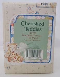 Cherished Teddies - Bear With Ice Skates Hanging Ornament