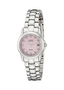 Citizen Women's Eco-Drive Stainless Steel Watch #EW1250-54A