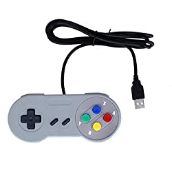 Imported USB Retro Classic Gamepad Joypad Controller For PC/MAC Nintendo SNES Games