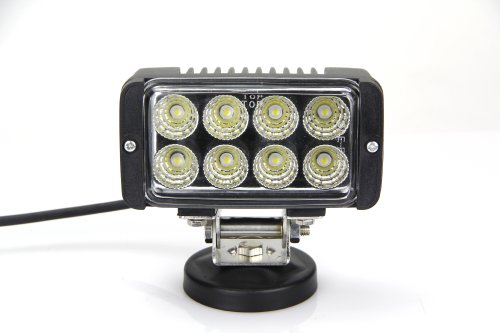 """Lite Wheels 24W 5"""" Square Led Work Light For Jeep Suv Atv 4X4 Off-Road Truck"""