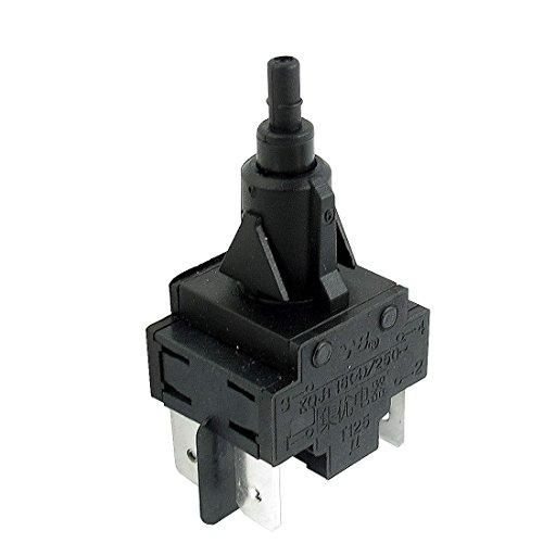 [해외]Uxcell AC 250V 4A 아니 노스 캐롤라이나 DPST 순간 세탁기 세탁기 전원 스위치/Uxcell AC 250V 4A No Nc Dpst Momentary Washing Machine Washer Power