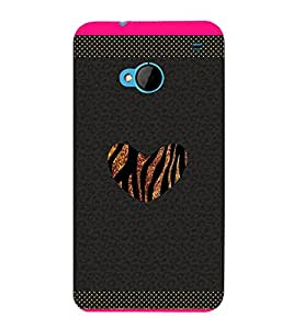 Chill Heart Pattern 3D Hard Polycarbonate Designer Back Case Cover for HTC One M7 :: HTC M7