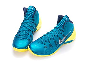 Nike HYPERDUNK 2013 XDR TROPICAL TEAL/WLF GRY-SNC YELLOW 613958-301 (US Men's Size: US 9 / UK 8 / 27 CM)