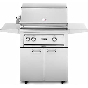 """30"""" Professional Freestanding Grill with ProSear Burner and Rotisserie Fuel Type: Natural Gas"""