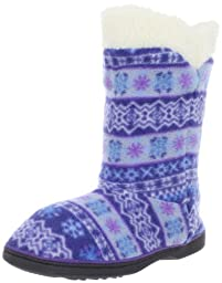 ACORN Peek a Boot Slipper,Icelandic Blue,9.5-10.5 M US Toddler
