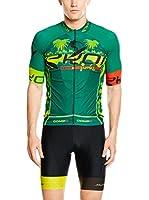 JOLLYWEAR Maillot Ciclismo Summer (Verde)