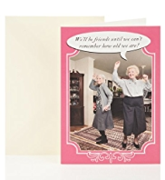 Dancing Friends Birthday Greetings Card