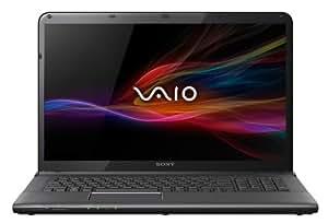 Sony VAIO SVE1713Y1EB 43,9 cm (17,3 Zoll) Notebook (Intel Core i7 3632QM, 2,2GHz, 8GB RAM, 1000GB HDD, AMD HD 7650M (2GB), Blu-ray Brenner, Win 8) schwarz