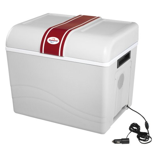 Koolatron P95 Travel Saver Cooler 45-Quart, Light Grey