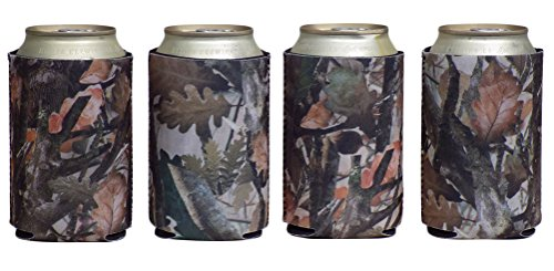 Smart Tart Neoprene Hunting Camo Can Thermocoolers - 4 Pack (Camo Can Koozie compare prices)