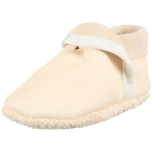 Pololo Klassik weià Slippers Unisex-Child White WHITE Size: 18/19