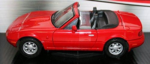 MotorMax 1/24 Scale Metal Model 73262 - Mazda MX5 Miata 1st Gen - red by Motormax (Mazda Miata Model Car compare prices)