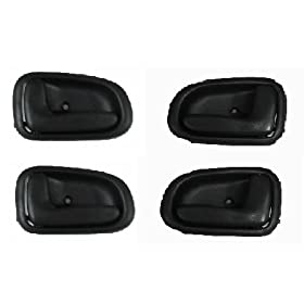 Door Handles Outside Exterior Front Rear LH /& RH Kit Set of 4 for Focus Tribute