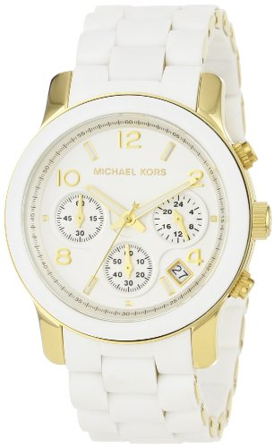 Michael Kors Champagne and Gold Ladies Sport Watch - MK5145