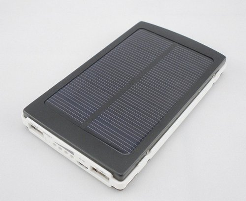 TigerViViTM 20000mAh Solar Panel Power Bank Charger Photo