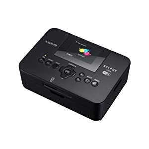 Canon Selphy CP910 Compact Photo Printer - Black