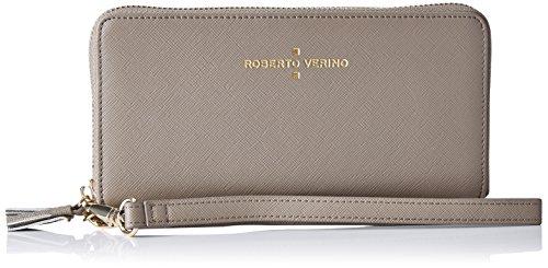 Roberto Verino Cartera piel saffiano amarillo-Accessorio Donna    Beige ( Beige 07 ) Talla única