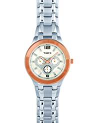 Timex E Class Analog White Dial Men's Watch F902