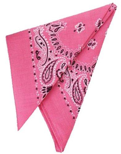 Dozen Pink Bandanas