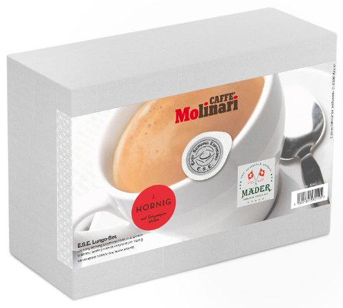 Business-Coffee Probierset - ESE Lungo, 24 E.S.E. Kaffeepads in 3 Sorten, 168 g, 2er Pack (2 x 168 g)