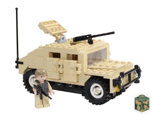 Desert Humvee Custom Lego C Model Kit Kristian Hirvonendom