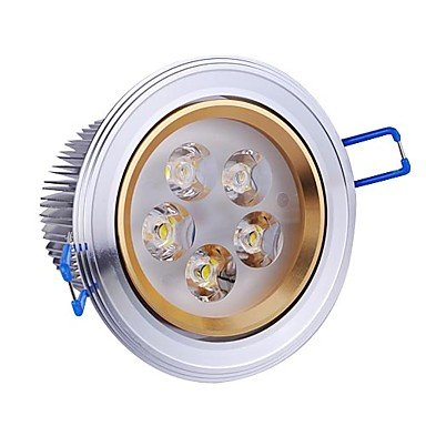 5W Led Silver Ceiling Light With 5 Leds Driver Included (Beam 5¡Ã/30¡Ã/45¡Ã/60¡Ã)