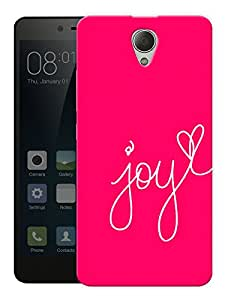 """Humor Gang Joy In Pink Printed Designer Mobile Back Cover For """"Xiaomi Redmi Note 2"""" (3D, Matte, Premium Quality Snap On Case)"""