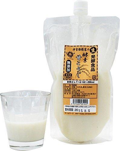 酵素 甘こうじ 600ml×1P 仲宗根糀家 無添加 生きてる酵素入り 砂糖不使用
