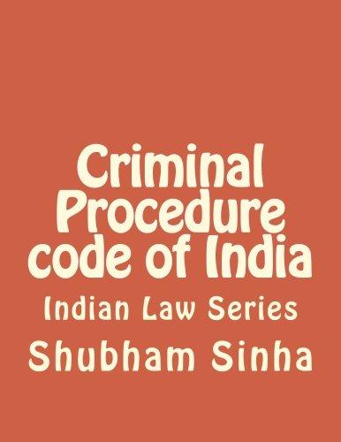 Criminal Procedure code of India: Indian Law Series
