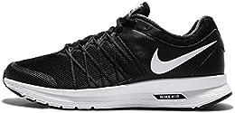 Nike Womens Black White Sports Shoes 9 Uk 44 EU 10 US