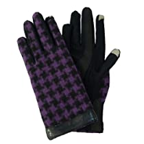 totes ISOTONER SmarTouch Bold Check Spandex Glove